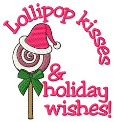 Holiday Wishes! embroidery design