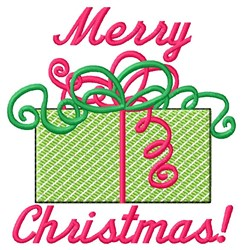 Merry Christmas! embroidery design