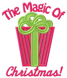 The Magic Of Christmas! embroidery design