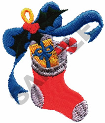 CHRISTMAS STOCKING embroidery design