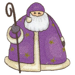 FATHER CHRISTMAS embroidery design