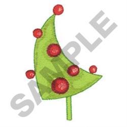 WHIMSICAL CHRISTMAS TREE embroidery design