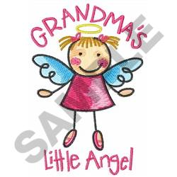 GRANDMAS LITTLE ANGEL embroidery design