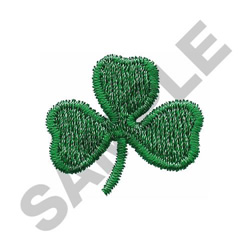 SHAMROCK SMALL embroidery design