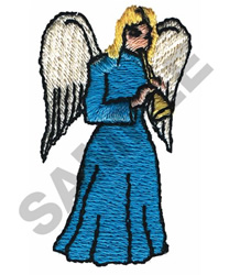 ANGEL WITH FLUTE embroidery design