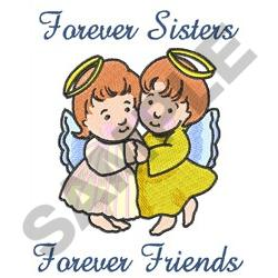 FOREVER SISTERS embroidery design