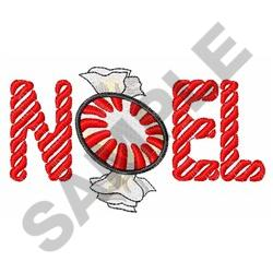 PEPPERMINT CANDY NOEL embroidery design