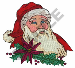 SANTA CLAUSE embroidery design