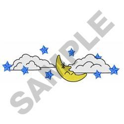 NIGHT SKY embroidery design
