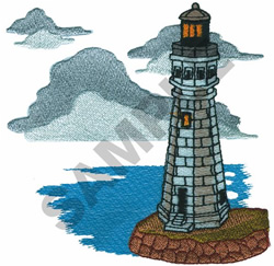 LIGHTHOUSE #5 embroidery design