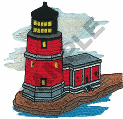 LIGHTHOUSE #15 embroidery design