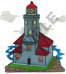 LIGHTHOUSE #19 embroidery design