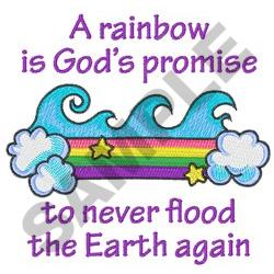 GODS PROMISE embroidery design