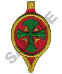 PUFFY FOAM ORNAMENT embroidery design