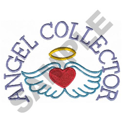 ANGEL COLLECTOR embroidery design