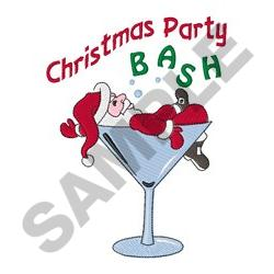 CHRISTMAS PARTY embroidery design