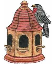 PAGODA BIRDHOUSE embroidery design