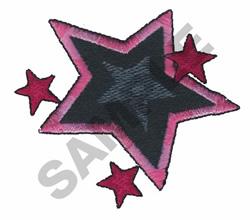 STARS embroidery design