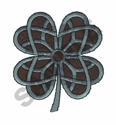 CELTIC SHAMROCK embroidery design