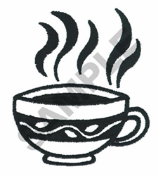 COOL KITCHEN COFFE CUP embroidery design