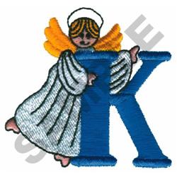 ANGEL K embroidery design