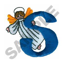 ANGEL S embroidery design