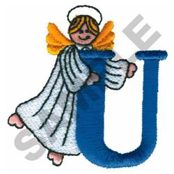 ANGEL U embroidery design