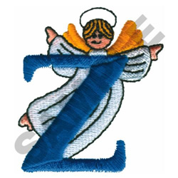 ANGEL Z embroidery design