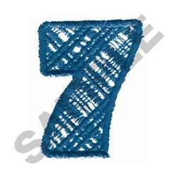 PLAID #7 embroidery design