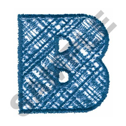 PLAID B embroidery design