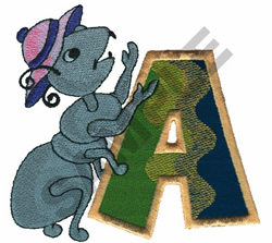 KIDS ANIMALS-A embroidery design