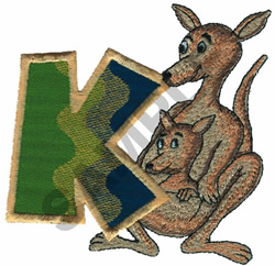 KIDS ANIMALS-K embroidery design
