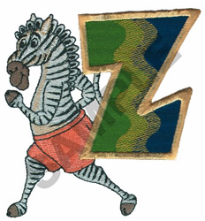 KIDS ANIMALS-Z embroidery design