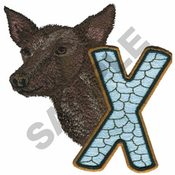 WILDLIFE XOLO-X embroidery design