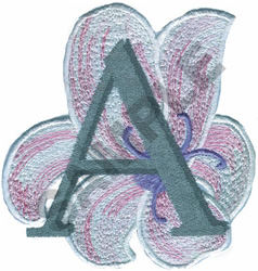 FLORAL II - A embroidery design