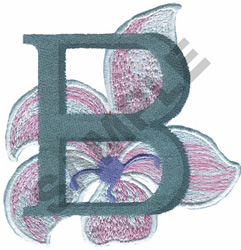 FLORAL II - B embroidery design