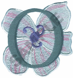 FLORAL II - O embroidery design