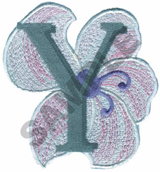 FLORAL II - Y embroidery design