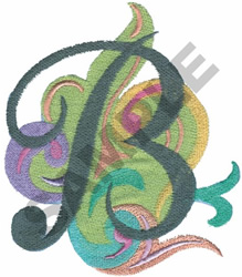 ABSTRACT-B embroidery design