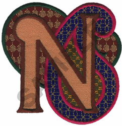 PAISLEY II-N embroidery design