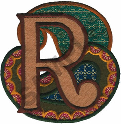 PAISLEY II-R embroidery design