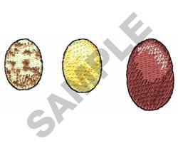 EGGS embroidery design