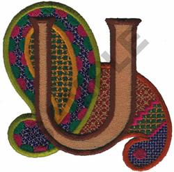 PAISLEY II-U embroidery design