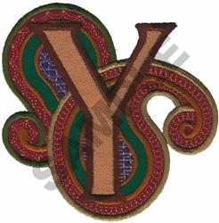 PAISLEY II-Y embroidery design