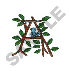 TREE - A embroidery design