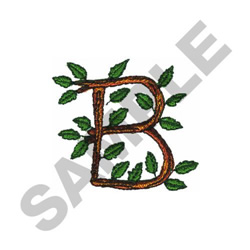 TREE - B embroidery design