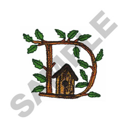 TREE - D embroidery design