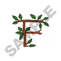 TREE - F embroidery design