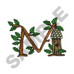 TREE - M embroidery design