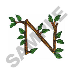 TREE - N embroidery design